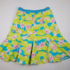 Dresses & Skirts - ITW Claude Brown stretch hummingbird bell skirt